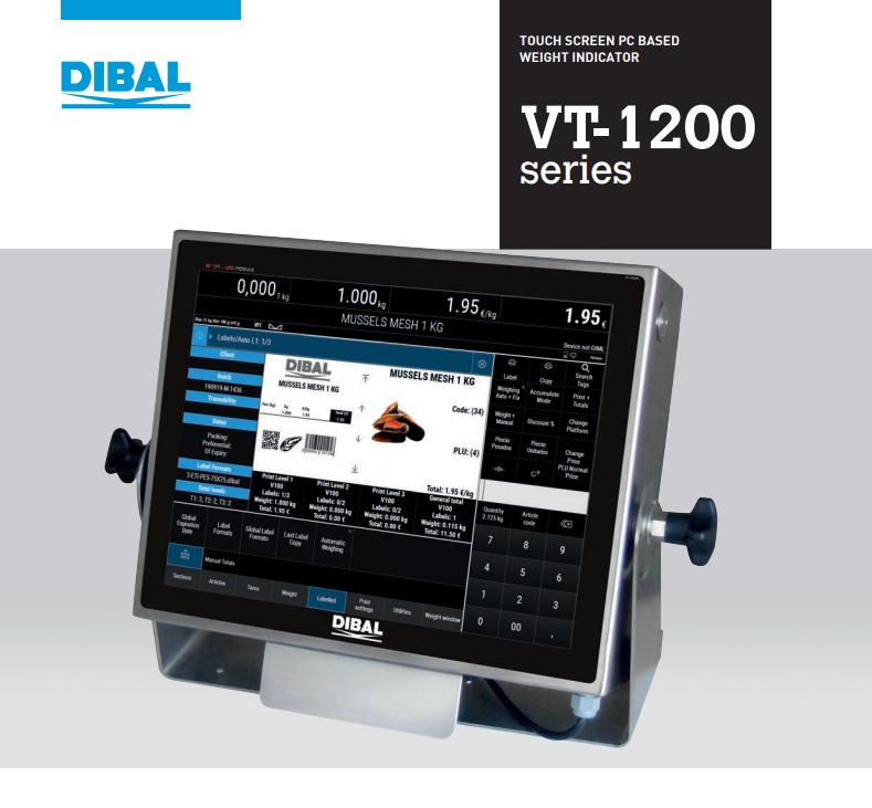 Dibal_VT-1200_pdf_cover