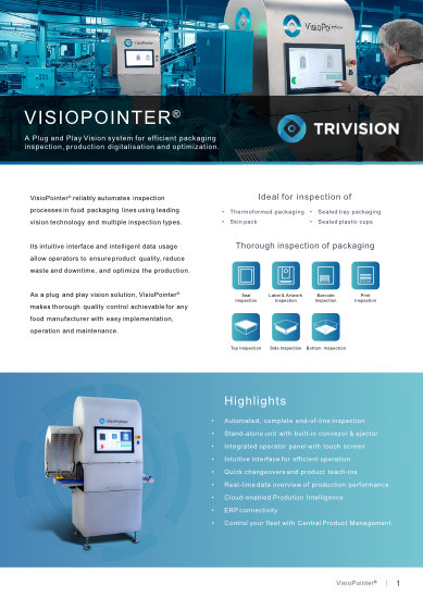 VisioPointer Product Sheet pdf-cover