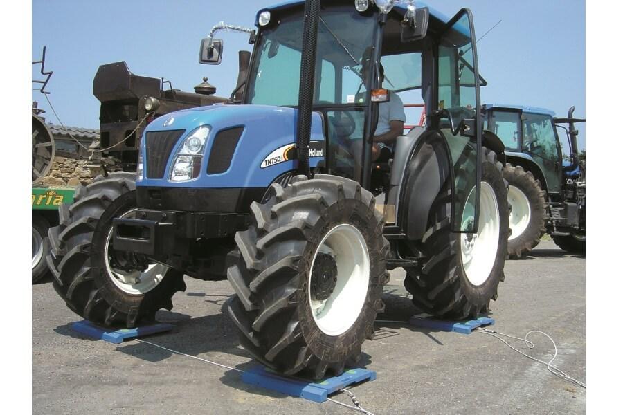 Mobil veieplattform med traktor