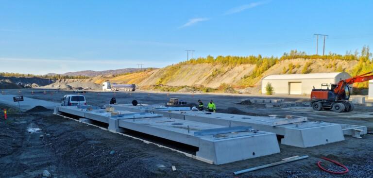 Snart veies det både inn og ut hos Finnmarksand AS.