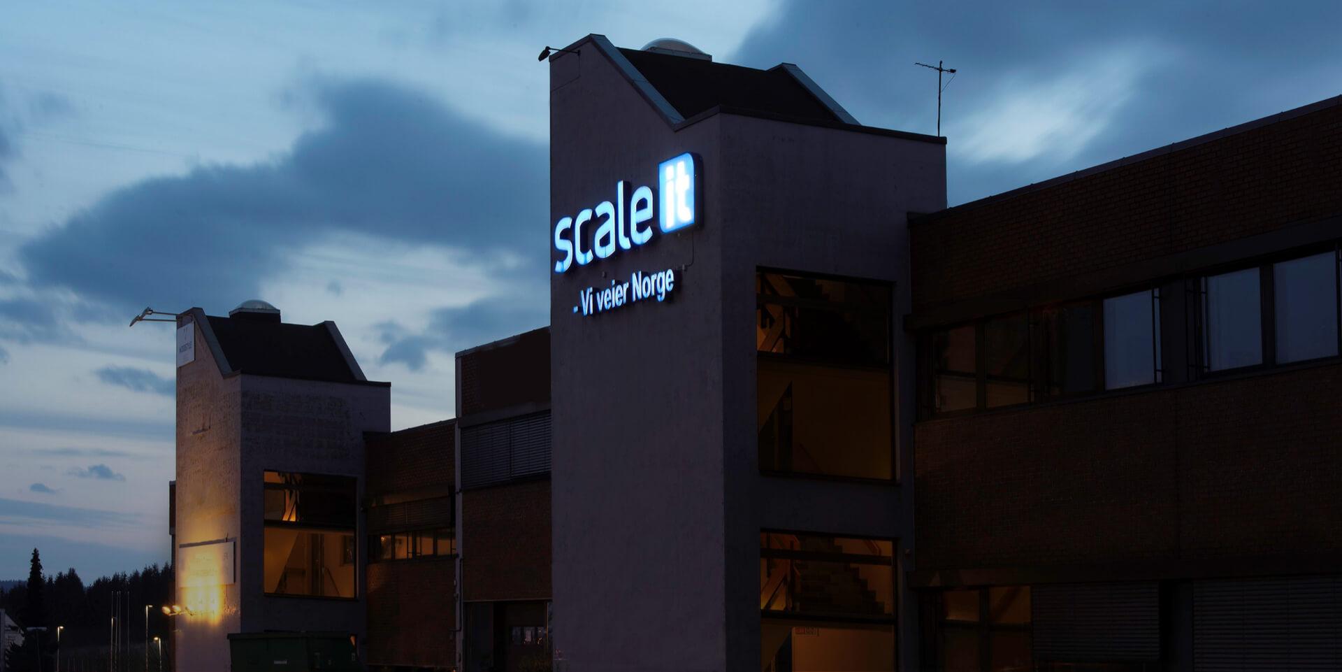 Scaleit bygning forside topp