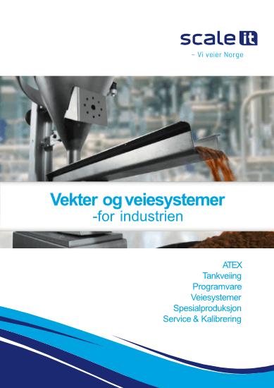 Vekter og veiesystemer for industri