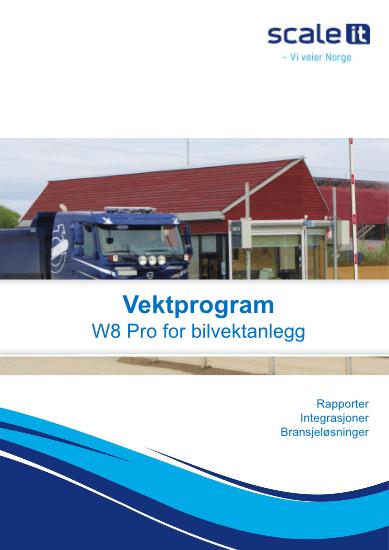 Vektprogram W8 Pro